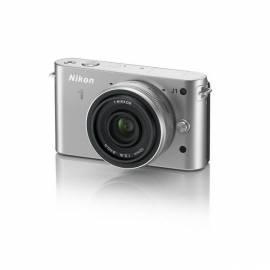 Digitalkamera NIKON 1 J1 + 10 mm F2. 8 Silber - Anleitung