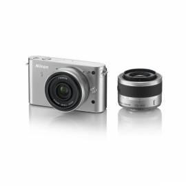 Benutzerhandbuch für Digitalkamera NIKON 1 J1 + VR 10-30 + 10 mm/2.8 Silber