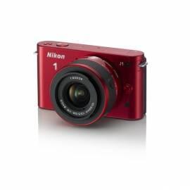 Bedienungsanleitung für Digitalkamera NIKON 1 J1 + AdR 10-30 rot