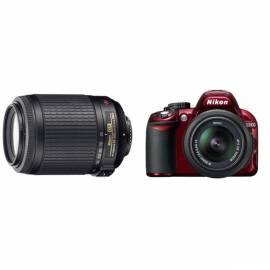 Bedienungsanleitung für NIKON D3100 + 18-55 + 55-200 AF-S DX VR AF-S VR Produkte gesetzt