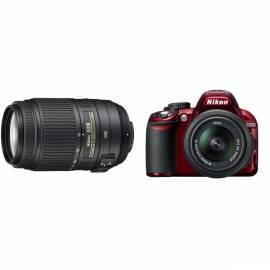 Datasheet Digitalkamera Set Zrcadlovka Nikon D3100 + 18-55 AF-S DX VR 55-300 AF-S VR