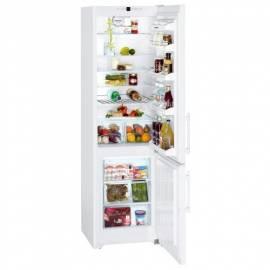 Bedienungsanleitung für Kombination Kühlschrank-Gefrierschrank LIEBHERR Comfort CP 4023