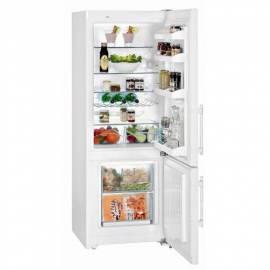 Bedienungshandbuch Kombination Kühlschrank-Gefrierschrank LIEBHERR Comfort CUP 2901