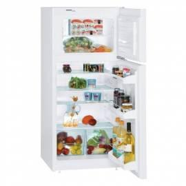 Handbuch für Kombination Kühlschrank-Gefrierschrank LIEBHERR CT 2011