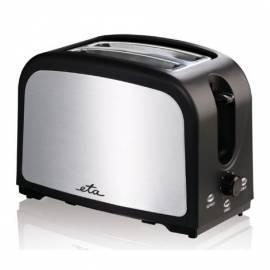 ETA 2157 90000 Toaster Schwarz/Edelstahl Gebrauchsanweisung