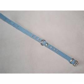 Halsband Wildleder Beatin 12mmx25cm mit Steinen, blau - Anleitung