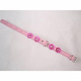 Bedienungsanleitung für Halsband Wildleder Beatin 12mmx25cm mit Blumen, Rosa
