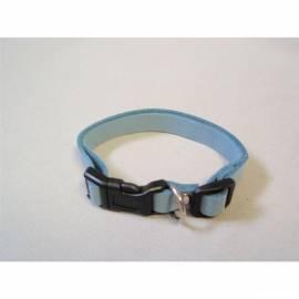Halsband Wildleder 13mmx35cm Beatin mit einer Kunststoff-Schnalle, blau - Anleitung