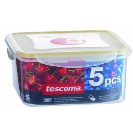 Bedienungsanleitung für JAR Tescoma FRESHBOX 5ks Quadrat