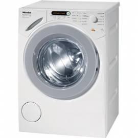 Waschvollautomat MIELE W 1000 WPS - Anleitung