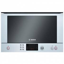 Bedienungsanleitung für BOSCH HMT85MR23 Mikrowelle weiß/Glas