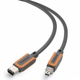 Kabel BELKIN FireWire grau 4P/6p (AD22001qn1M) Bedienungsanleitung