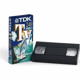 Videokazeta TDK E-240TV 240min., 5ks/Pack (t12730) - Anleitung