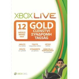 Handbuch für Zubehör für die Spielkonsole MICROSOFT Xbox Gold card 12 Monate (52 m-00103)