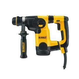DEWALT Bohrhammer D25323K schwarz/gelb Gebrauchsanweisung