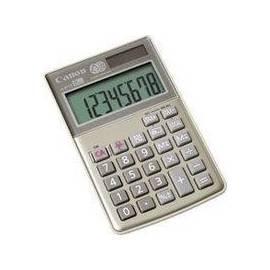 Calculator CANON LS 10 TEG HWB (4422B002AA) Gebrauchsanweisung