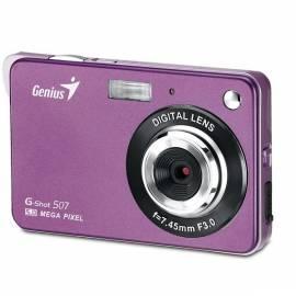 Bedienungshandbuch Digitalkamera GENIUS G-Shot 507 (32300008103) Rosa