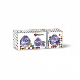 Geschenk-Box-Verpackung 1 X Tassimo Kapseln + Tasse Milka Gebrauchsanweisung