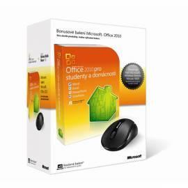 Handbuch für Microsoft Office Home und Student 2010 Eng-Aktivierungs-Schlüssel + Microsoft Funkmaus