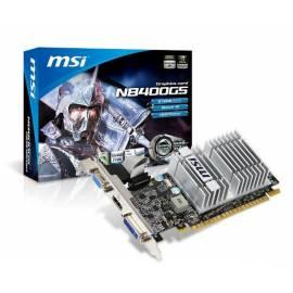 Benutzerhandbuch für VGA MSI N8400GS-MD512H
