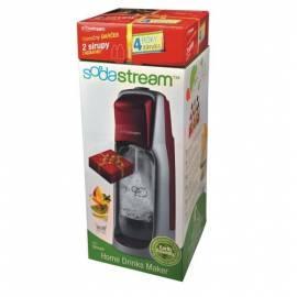 Bedienungshandbuch SodaStream JET-Soda-Wasser-Dispenser rot/silber + Garantieverlängerung 4 Jahre + 2 gratis Sirup