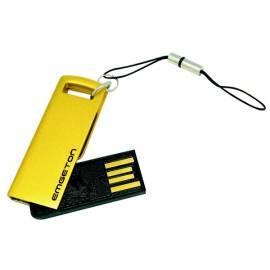 Datasheet Flash USB Emgeton Metall MINI R2 8GB, Gold
