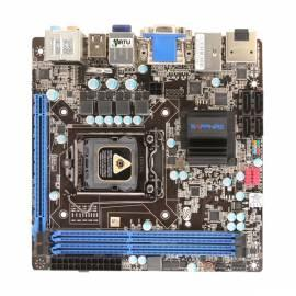 MB Saphir Platin H61 sc 1155, 2xDDR3, VGA, 1xPCI-e x 16, Mini-ITX Bedienungsanleitung