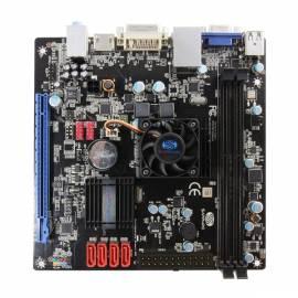 Benutzerhandbuch für MB Saphirglas weiß FUSION E350 2xDDR3, VGA, 1xPCI-e X 16, Mini-ITX