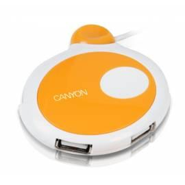 PDF-Handbuch downloadenUSB HUB CANYON CNR-USBHUB10 4-Port USB 2.0, weiss-orange