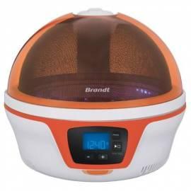 Bedienungsanleitung für Mikrowelle Brandt SPOUTNIK Orange
