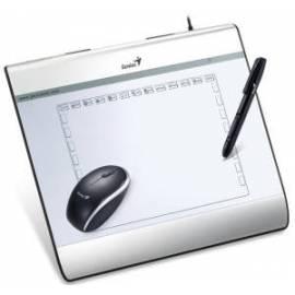 Bedienungsanleitung für GENIUS MousePen Tablet 6 x 8 USB i608X mit Stift und Maus