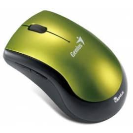 Maus GENIUS Ergo 7000 WL USB grün Bedienungsanleitung