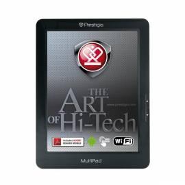 Bedienungsanleitung für PMP3384B Prestige 1-GHz-Tablet Touch.8, 4 &, 800 * 600, 4 GB, SD-Slot, USB, WiFi, Android 2.3