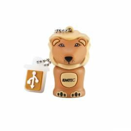 Bedienungshandbuch Flash USB Emtec M325 Lion 4GB High-Speed