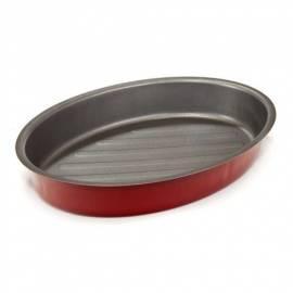 Handbuch für Kasserolle Bankett 19SL1050, ovale, rote Culinaria
