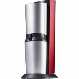 Benutzerhandbuch für Hersteller Sodawasser SodaStream Crystal rot/silber