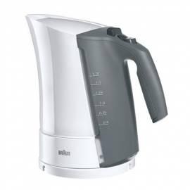 Wasserkocher Braun WK 300 weiß Gebrauchsanweisung