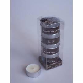 Kerzen in einer Dose-4 PC HD Home Design (A03110), braun - Anleitung