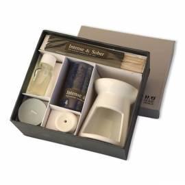 Handbuch für Kerzen-Geschenk Pakete HD Home Design (A03200), weiß, blau
