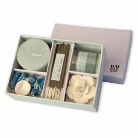 Kerzen-Geschenk Pakete HD Home Design (A03270), hellblau Gebrauchsanweisung