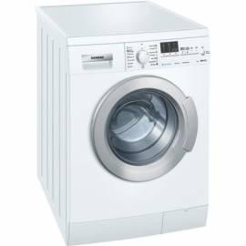 Wasch-Maschine Siemens WM 10E468ME varioPerfect Bedienungsanleitung
