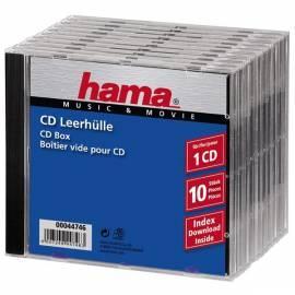 Schützende Hama CD 10ST/PA, PP, Farbmischung - Anleitung