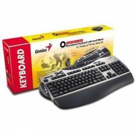 Genius KB-21e PS/2 multimedia, Slovensky Tastaturlayout - Anleitung