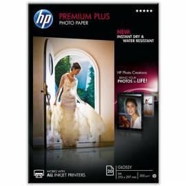 Papier HP Premium Plus Glossy Photo 20 Sht/A4/210 x 297 mm, CR672A - Anleitung