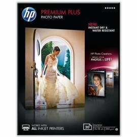Papier HP Premium Plus Glossy Photo 20 Sht/13 x 18 cm, CR676A