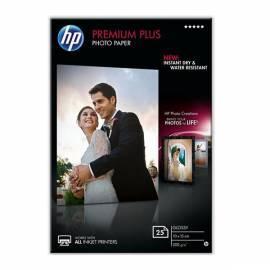 Datasheet Papier HP Premium Plus Glossy Foto 25 Sht/10 x 15 cm, CR677A