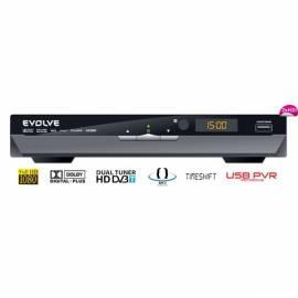 Receiver DVB-T entwickeln Andromeda DUAL HD (USB PVR, MPEG-4, HDMI, Dolby-Digital-Plus,TimeShift,MKV,H.264,NTFS,DivX,MP3,JPG Gebrauchsanweisung