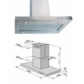 Bedienungsanleitung für Dunstabzugshaube Mora OO 930 X