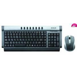Tastatur und Maus EVOLVE WK-121 USB, COM Gebrauchsanweisung