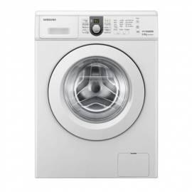Waschmaschine Samsung WF1600WCW - Anleitung